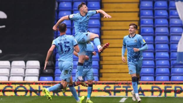 Coventry thrash Millwall to finish on high