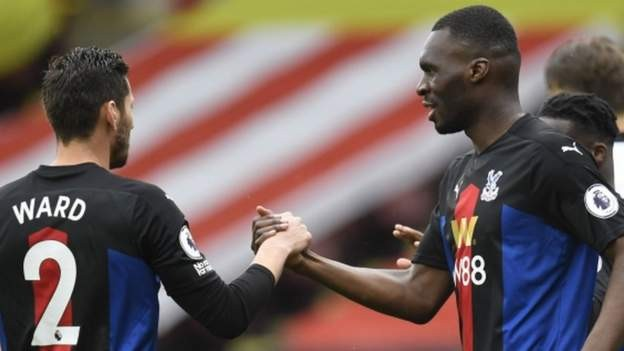 Palace win at Sheffield United to secure Premier League status