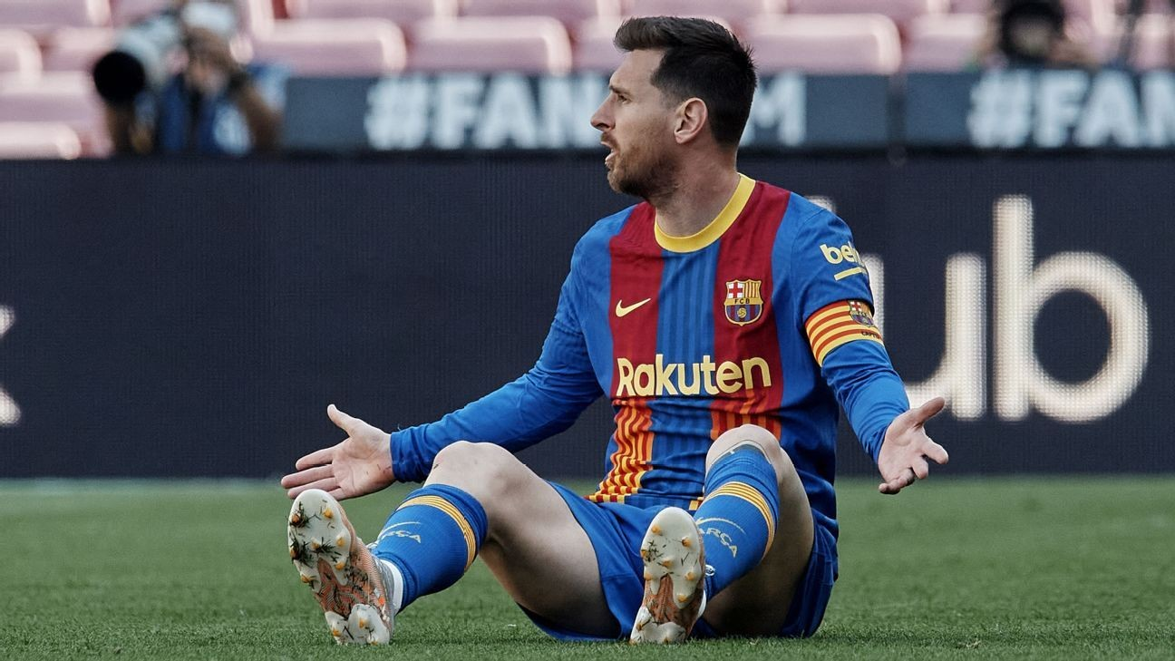 Messi 7/10 but cannot inspire Barcelona as Griezmann struggles