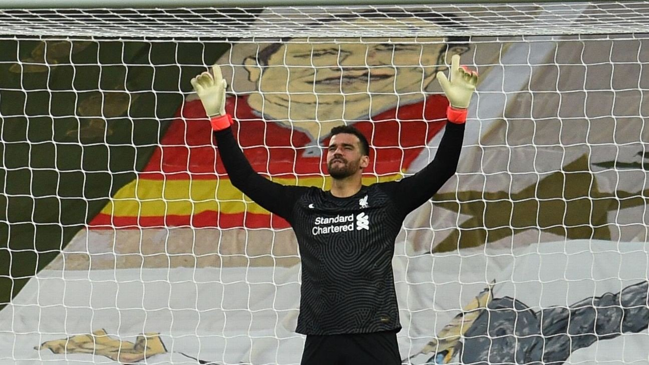 Alisson 9/10, Mane 8/10 as Liverpool keep pace in top-four race