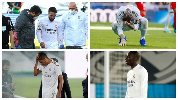 Twenty-two LaLiga Santander games without the first-choice defence