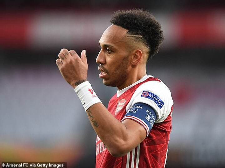 Aubameyang issues apology to Arsenal fans after UFL exit and poor league form