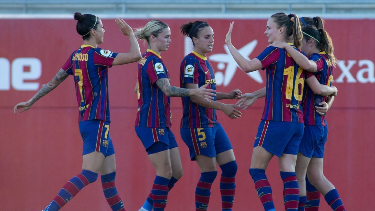 Barca crowned Primera Iberdrola champions