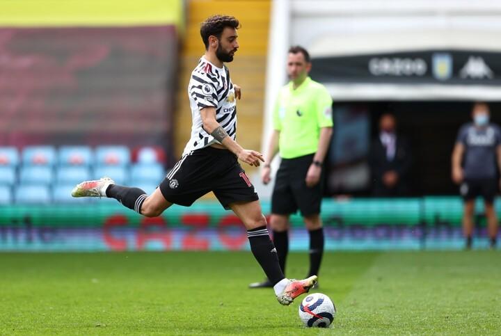 Villa 1-3 Man Utd: Utd earn comeback win as Cavani, Greenwood & Fernandes net
