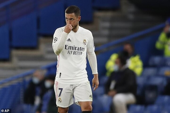 Real Madrid stuck with £25m-a-season flop Hazard... whether they like it or not