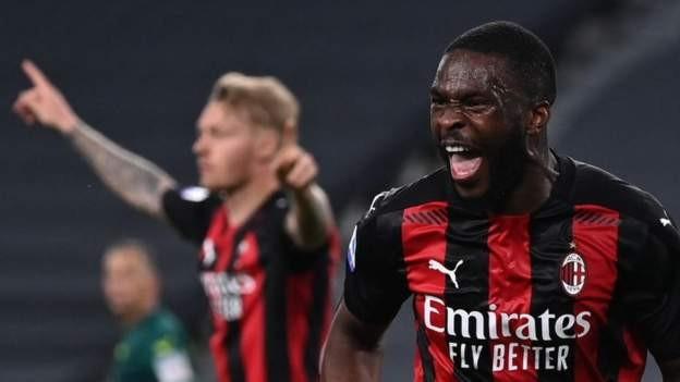Tomori scores as Milan beat Juve