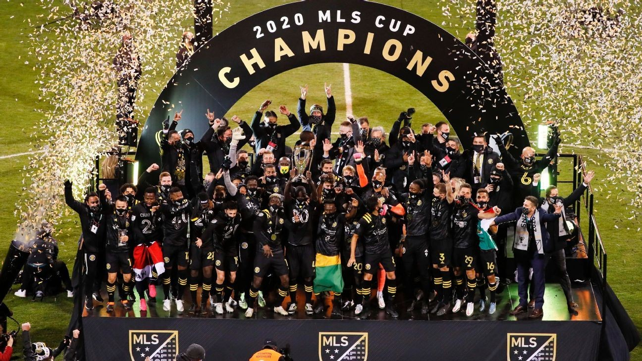 Sources: MLS champs Columbus to drop 'Crew' from name
