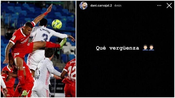 Dani Carvajal on Sevilla penalty: How shameful