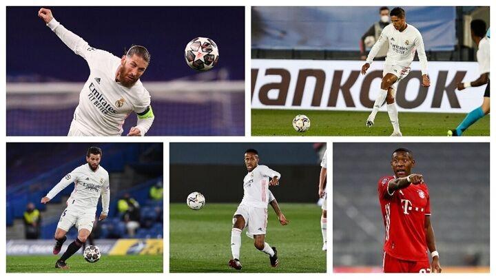 Madrid's plan at centre-back: Alaba, Nacho, Militao...and one of Ramos or Varane