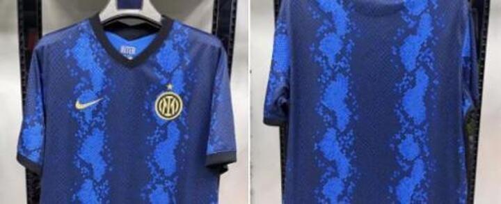 Inter's 2021-22 home kit leaked?