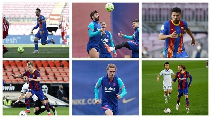 Half of Barcelona's line-up are walking the tightrope