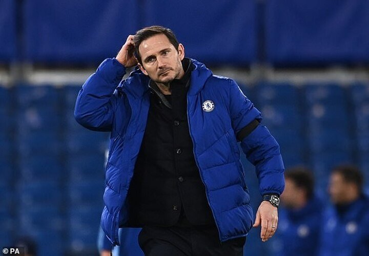 Frank Lampard 'a frontrunner to replace Roy Hodgson at Crystal Palace'
