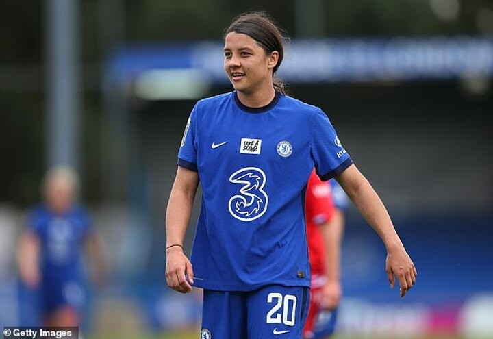 Chelsea star Sam Kerr insists she has 'nothing to say' to those who doubted her