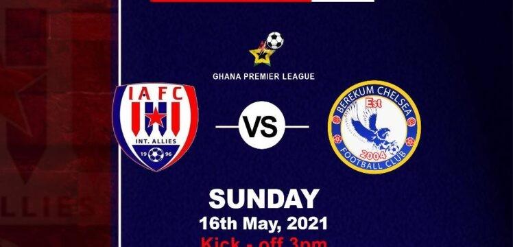 Match Preview – Inter Allies v Berekum Chelsea – Dawu