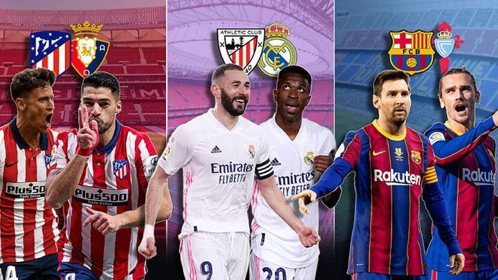 Matchday LaLiga: Athletic vs Real Madrid, Atletico vs Osasuna & Celta vs Barca