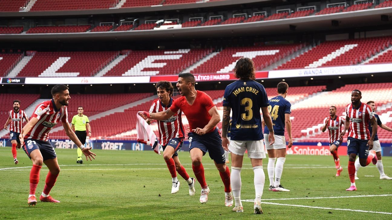 Suarez rescues Atletico's Liga hopes, Chelsea season hangs in balance, Alisson heroics for Liverpool