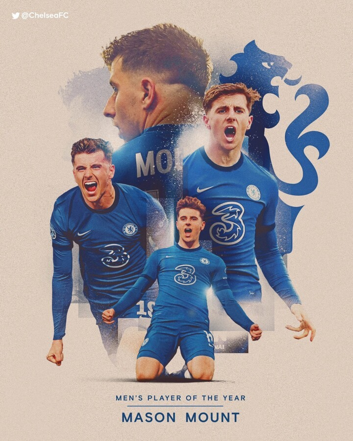 OFFICIAL: Mount wins the 2020/21 Chelsea Men's Player of the Year award