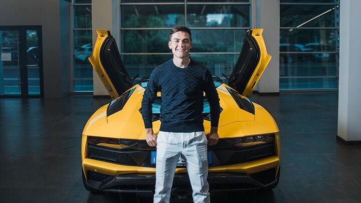 Dybala gifts himself a 400,000 euro sports car to celebrate century of Juventus goals