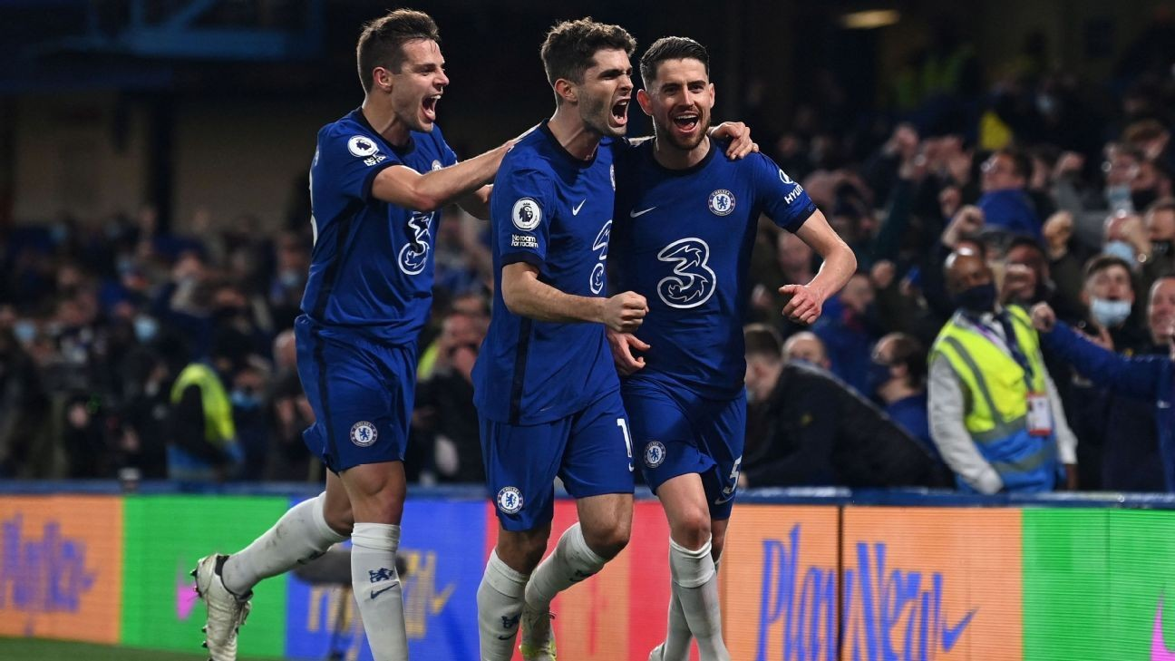 Chelsea bring the fight to close in on Champions League place