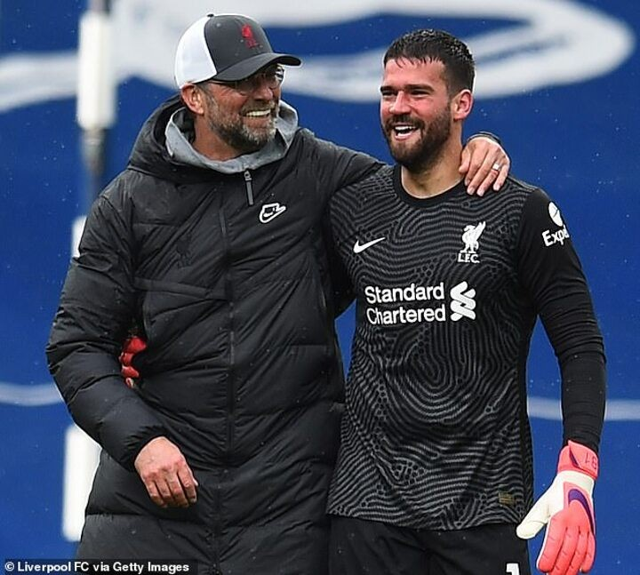Liverpool will open contract talks with Alisson and Fabinho this summer