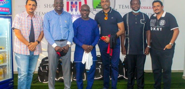 GFA / FIFA Forward delegation visits Inter Allies