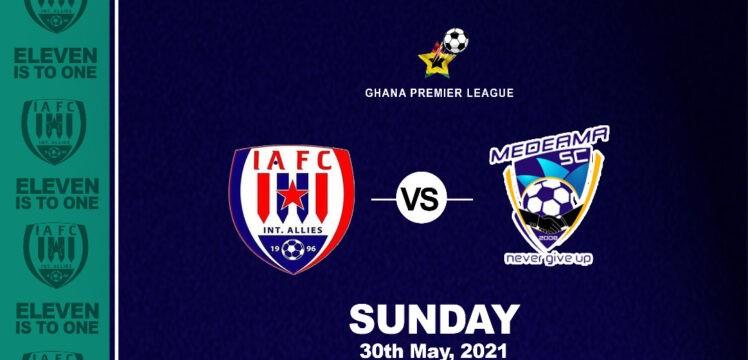 Match Preview – Inter Allies v Medeama SC – Dawu