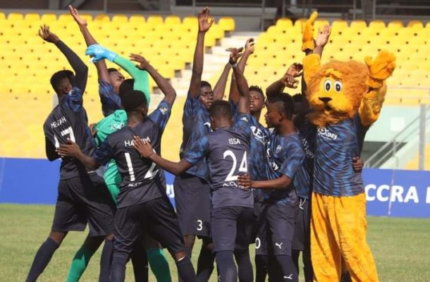 Division One League: Accra Lions earn historic promotion to the GPL after victory over Danbort