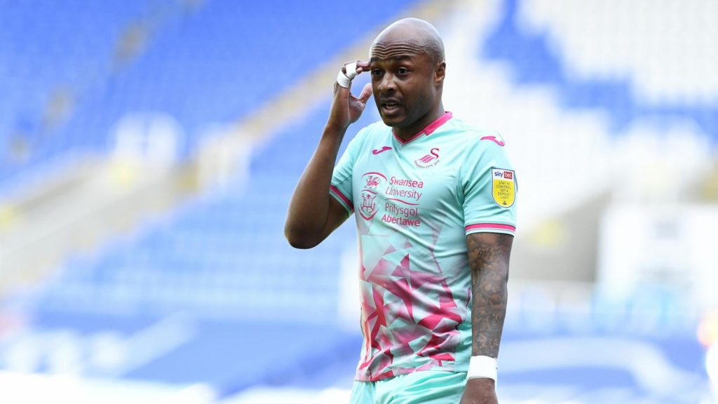 Andre Ayew fit for Swansea clash against Watford