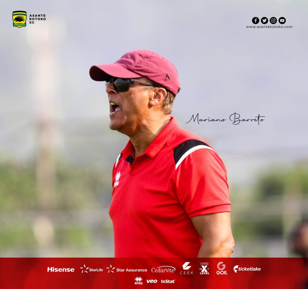'I am surprised someone approved this pitch for football'- Kotoko coach Mariano Barreto on Dawu pitch