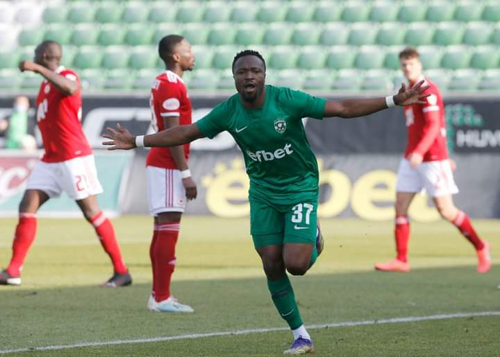 Bulgarian champions Ludogorets Razgrad want to keep Ghanaian winger Bernard Tekpetey after loan spell