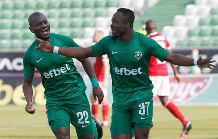 Ghanaian winger Bernard Tekpetey keen on staying at Ludogorets Razgrad
