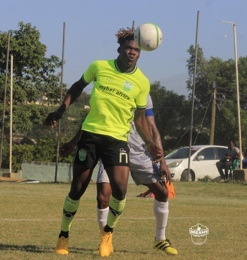 2020/21 Ghana Premier League: Brace-hero Ali Huzaif is Man of the Match in Dreams FC win
