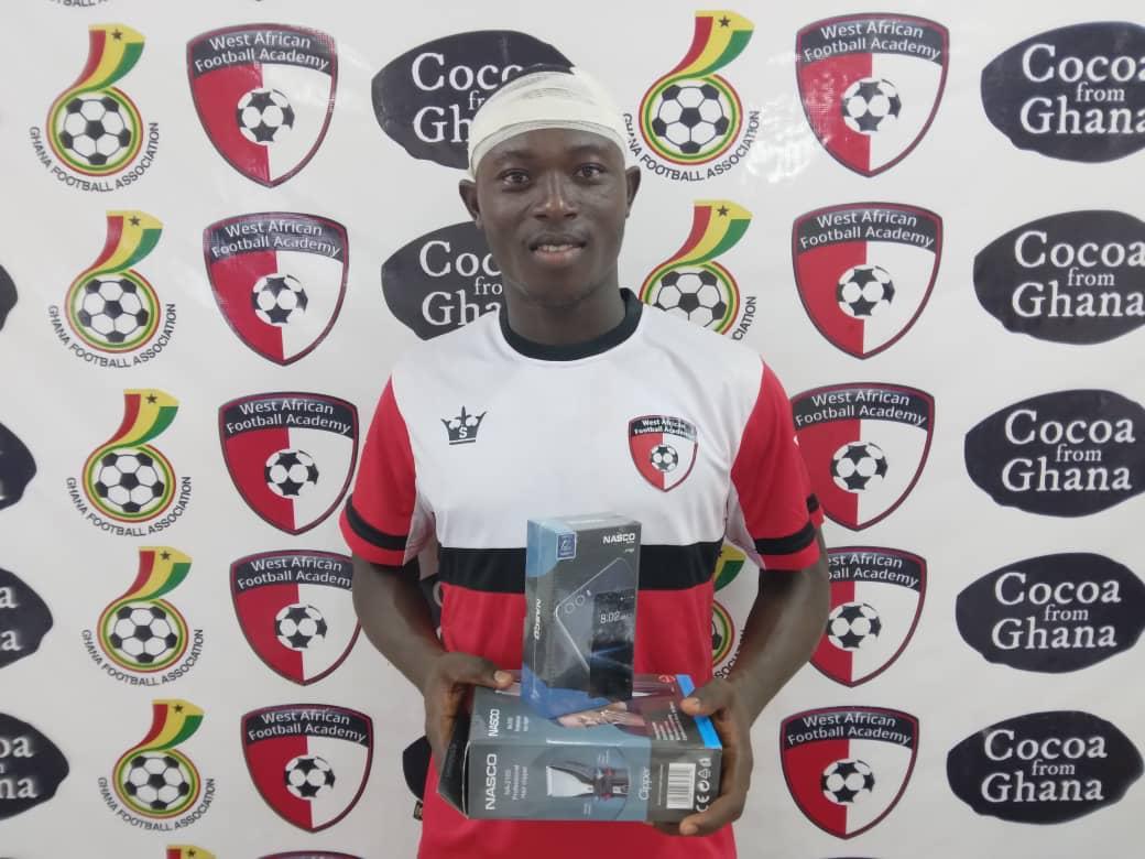 2020/21 Ghana Premier League: WAFA midfielder Nii Gyashie named MoTM in defeat to Great Olympics