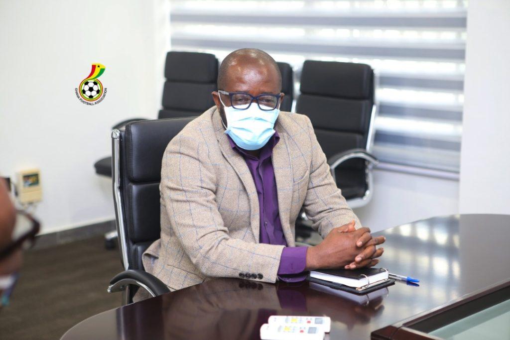 Ghana FA boss Okraku reveals changes in Black Stars' Europe training camp