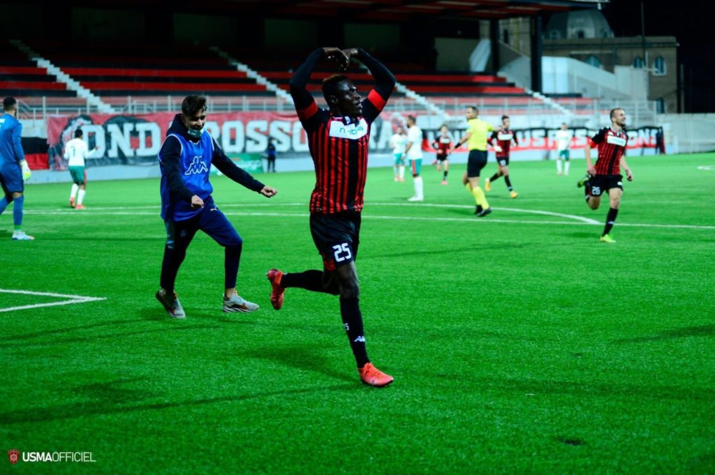 VIDEO: Watch Kwame Poku's debut goal for USM Algers against rivals MC Algers in Algerian Cup
