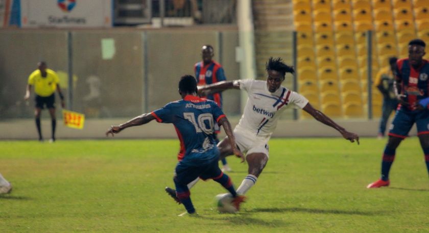 VIDEO: Watch highlights as Legon Cities come from behind to beat Liberty Professionals 2-1