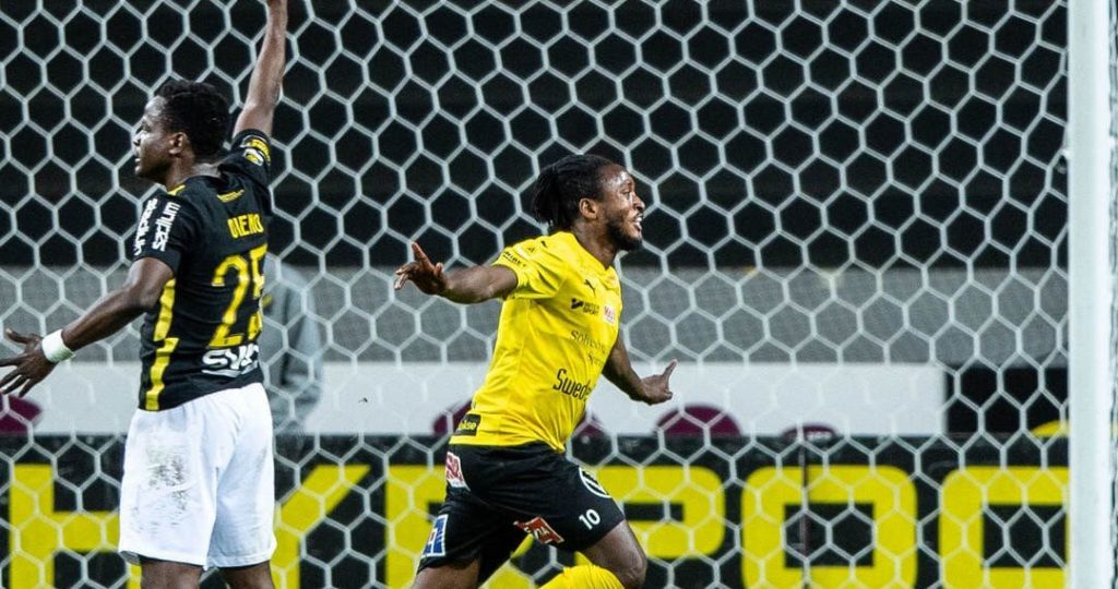 VIDEO: Substitute Mamudo Moro rescues point for Mjallby in Sweden
