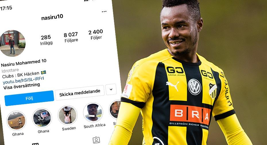 EXCLUSIVE: Free agent Nasiru Mohammed training with former club BK Hacken