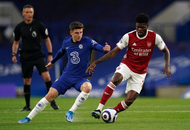 Thomas Partey admits he didn't impress on debut Arsenal season