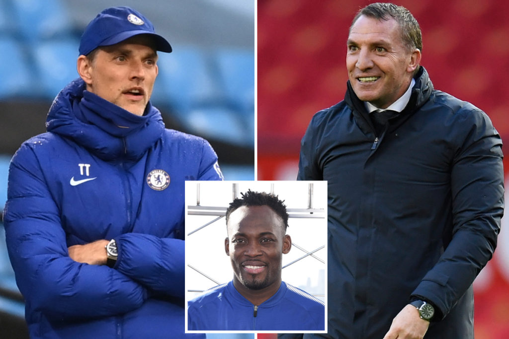 Michael Essien wants to see Brendan Rogers manage Chelsea in future