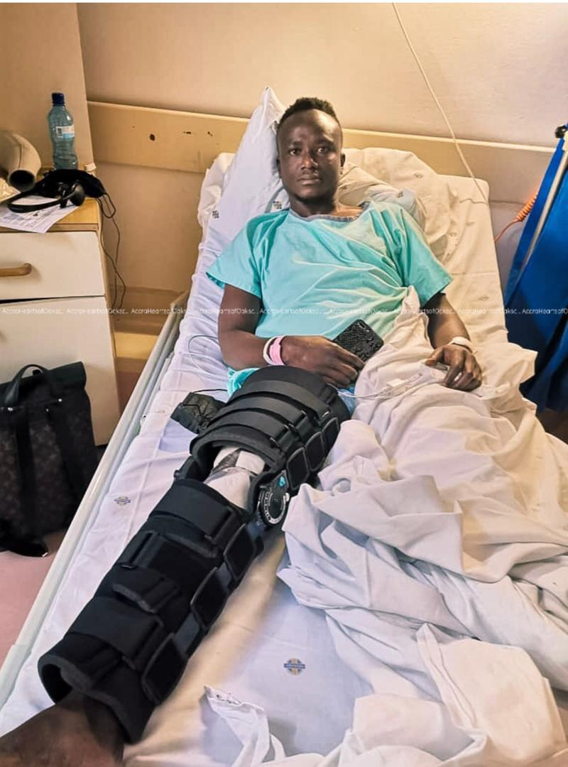 Hearts of Oak's Daniel Kodie undergoes successful surgery in South Africa