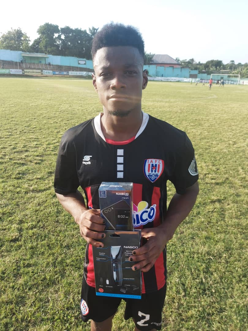 2020/21 Ghana Premier League: Brace hero Alex Aso picked as MOTM in Inter Allies drubbing of B.Chelsea