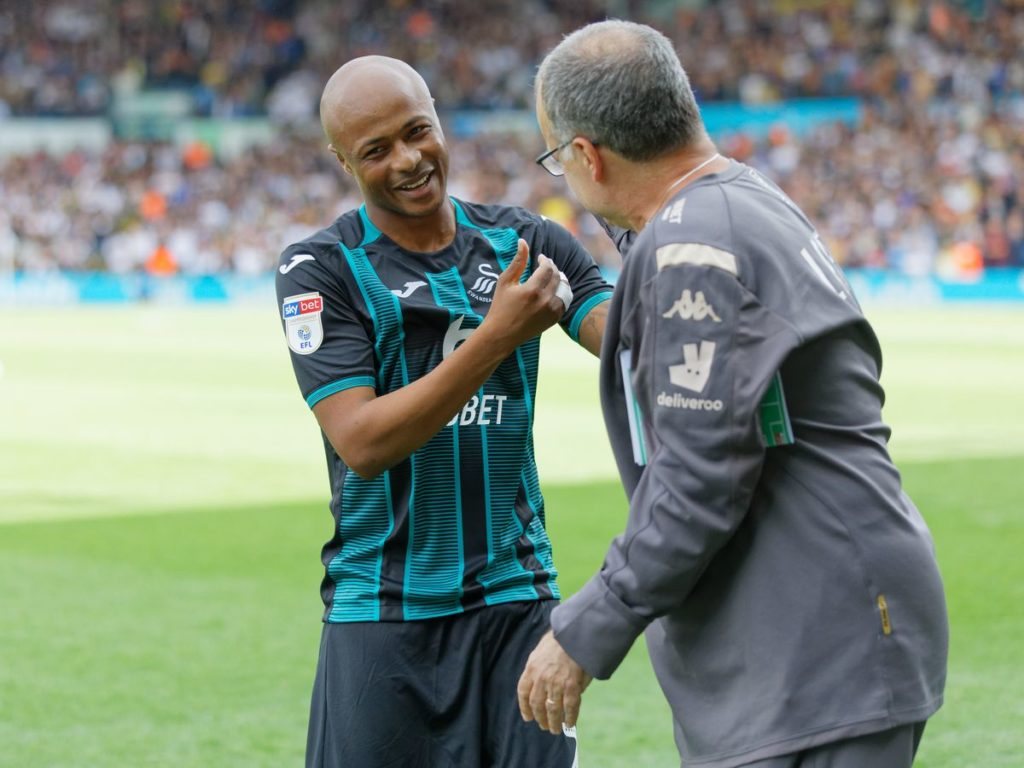 Ghana captain Andre Ayew to reunite with Marcelo Bielsa at Leeds United