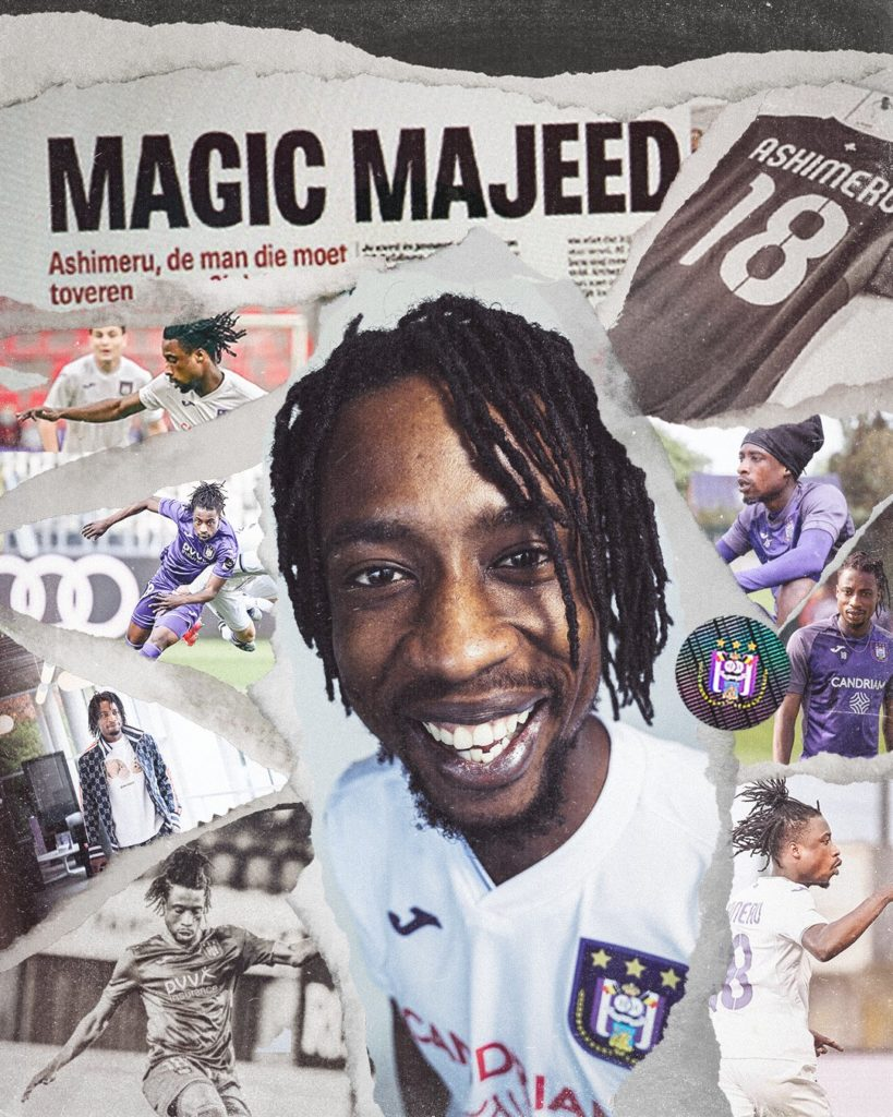 Anderlecht confirm capture of Ghanaian midfielder Majeed Ashimeru