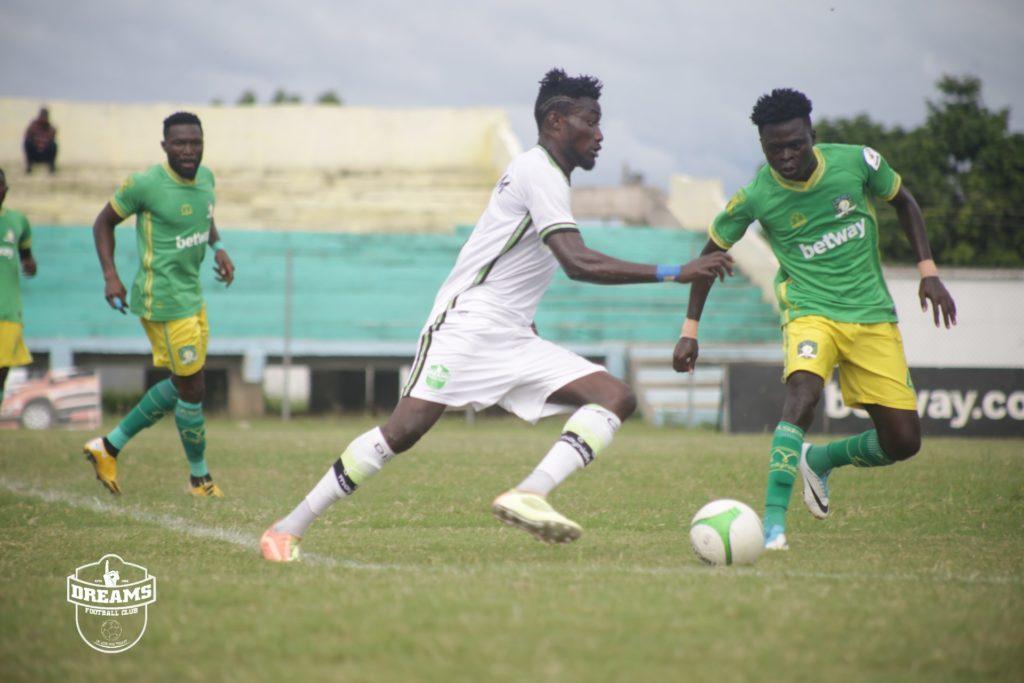 2020/21 Ghana Premier League: Week 31 Match Report- Aduana Stars 2-0 Dreams FC