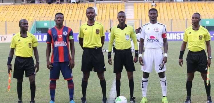 Match Summary – Legon Cities 1-0 Inter Allies – Accra: