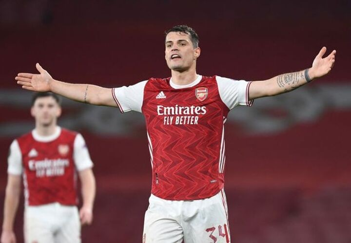 Emery's remaining infamous Arsenal leaders as Xhaka closes in on £17m exit
