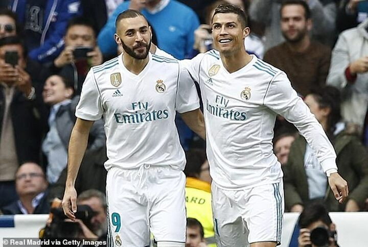 Mourinho reveals Ronaldo was 'in love' with Benzema at Real Madrid