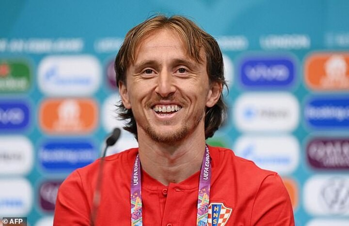 Modric claims media and commentators are 'arrogant' about England's Euro chances