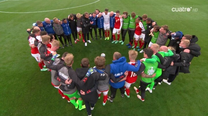Denmark 0-0 Finland LIVE: Match resumed in support & prayers for Eriksen
